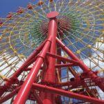 神戸ハーバーランドの大観覧車 ドキンちゃんのゴンドラ!